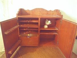 Sewing storage cabinet