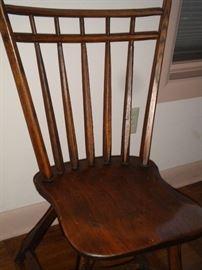 Handmade birdcage Windsor chair