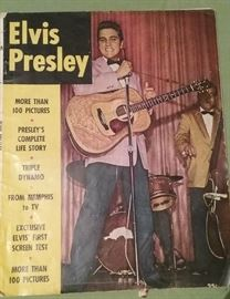Elvis Presley's Life Story in pictures as of 1956. Copyright 1956 by Bartholomew House, Inc. Original price was 25 cents.