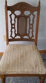 ornate vintage chair.