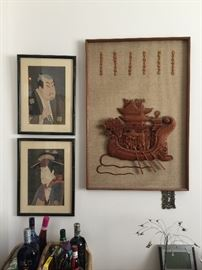 Asian Wall art