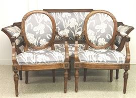 19th century French parlor set