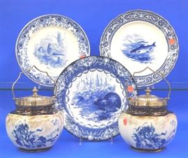 Royal Doulton and Flow Blue