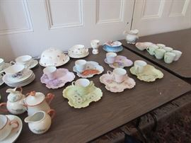 Ladies snack plates and cups