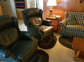 Bradington Young leather recliners