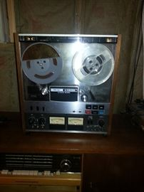 Teac reel to reel recent service