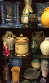 Some of our Art Pottery.