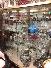 Crystal Stemware and Servingware: Lalique, Baccarat, Venetian, Moser, and much, much more.