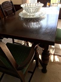 Get Ready To Loose Your Breath When You See This Amazing Dining Room Table w/6 Chairs!...