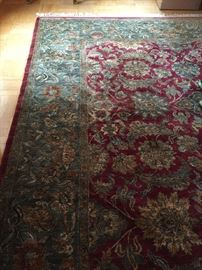 One of several gorgeous oriental carpets from around the world.  this is an Indian Dream Collection Agra from Pande Cameron originally paid $9750 asking $2400