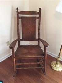 #2Wood Rocking Chair $75.00
