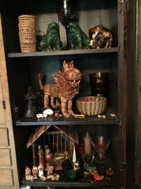 Antique nativity sets