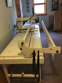 Professional HQ Sixteen Pro-Stitcher, Long Arm Quilting Machine with 12' frame