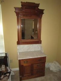 Eastlake washstand
