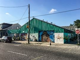 The Art Garage at 2231 St Claude Avenue in the Marigny