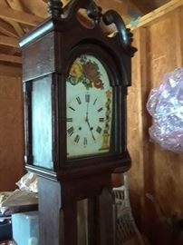 7' Antique grandfather clock $1200 approximate value $6000