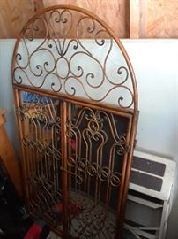 Arch top decorative mirror $80