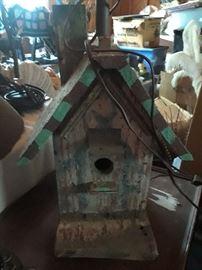 Birdhouse lamp $20