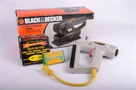 Black & Decker Sheet Sander & Stanley Staple Gunhttp://www.ctonlineauctions.com/detail.asp?id=638069