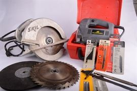 McCulloch Jigsaw & Skil Table Saw  http://www.ctonlineauctions.com/detail.asp?id=638057