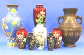 Champleve and Cloisonne