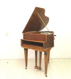 """ Baby Grand""  Victrola with mahogany case"