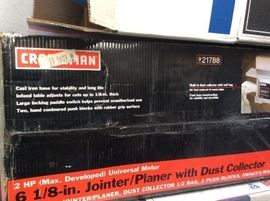 """Craftsman 6 1/8"""" Joinet/Planer with Dust Collector"""