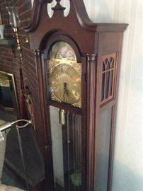 Tall clock--works