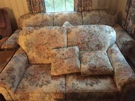 Sleeper sofa and loveseat.  Excellent Condition.