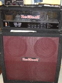 Red Bear MK 120 lead tube amplifier