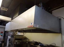 "50"" Captive Air Commercial Kitchen Exhaust Hood (#5203)"