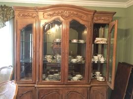 Dining Room Hutch - Excellent Condition - At another Location and must sell by 10/25! - Ask for Ellen