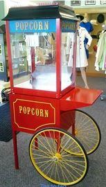 PARAGON Vintage 1911 model 8oz popcorn machine.  With cart !