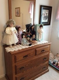 Dolls and dressers