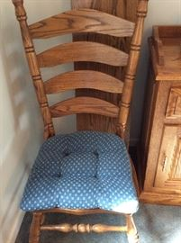 Dining chairs.   6 total