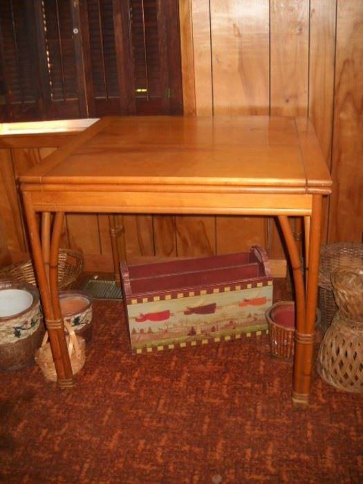 Listed By John And Regina Warnock   5:00 VINTAGE AND ANTIQUE FURNITURE ·  HEYWOOD WAKEFIELD FOLDING, UNFOLDED 2u201d BY 64u201d · HEYWOOD WAKEFIELD 4 SECTION  ...
