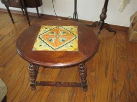 Tile Top Arts Crafts Table