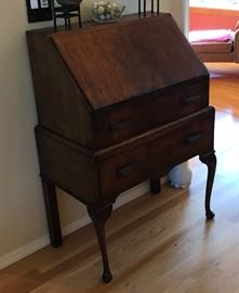 Antique Secretary Desk.  Good Working Condition.