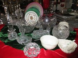 Waterford, Belleek and other crystal
