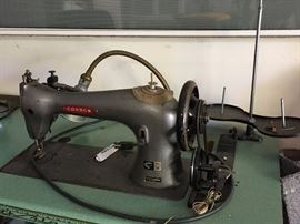 Commercial grade upholstery sewing machine