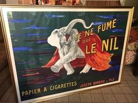 Leonetto Cappiello Original French Cigarette Advertising Poster