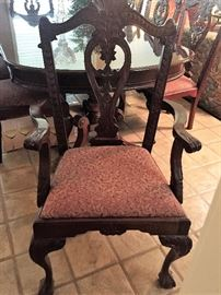 Mahogany Dining Room Master Chair