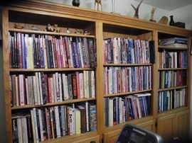 Lots of books, tons of WoodWorking books and other publications!