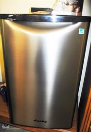 Danby smaller stainless refrigerator
