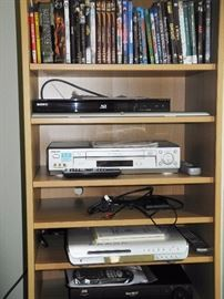DVDs and electronics