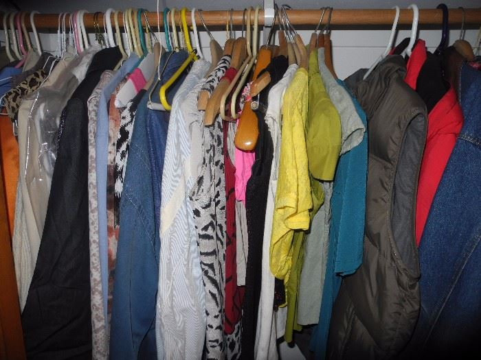 """Men and women's jackets and clothing. Several """"finer"""" brands"""