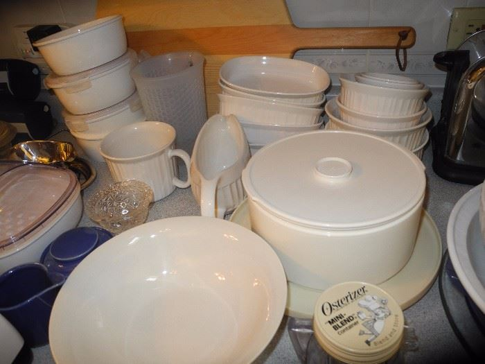 Corning pieces and microwave items