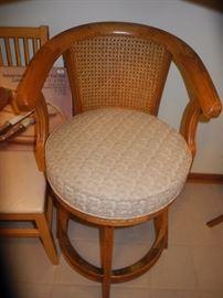 Padded, comfy stool
