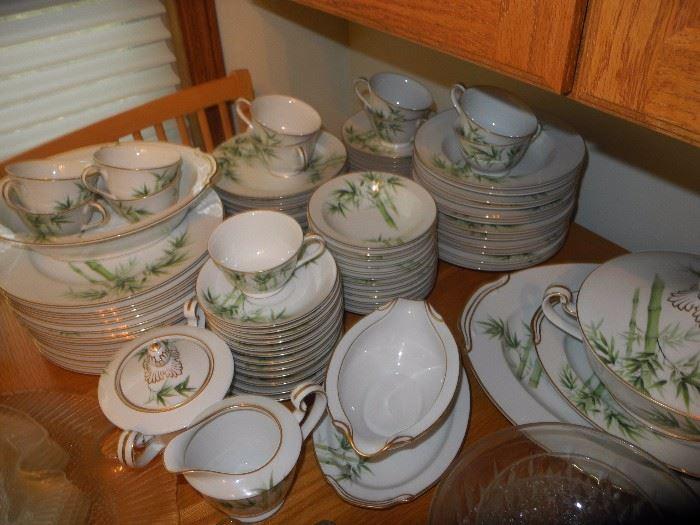 Noritake Asian pattern china