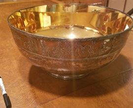 Massive Sterling Silver Franklin Mint Bicentennial Bowl. Limited Edition.